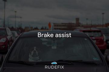 Brake assist - forrude udstyr
