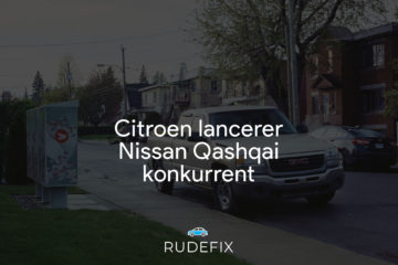 Citroen lancerer Nissan Qashqai konkurrent