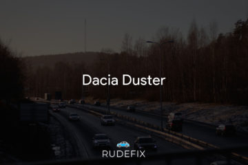 Dacia Duster - forrude information