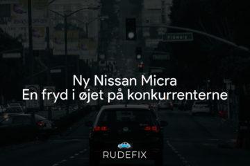 Ny Nissan Micra – En fryd i øjet på konkurrenterne
