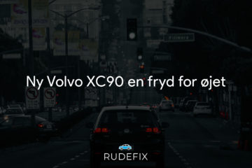 Ny Volvo XC90 en fryd for øjet - forrude information