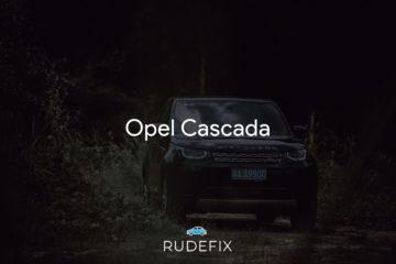 Opel Cascada - forrude information