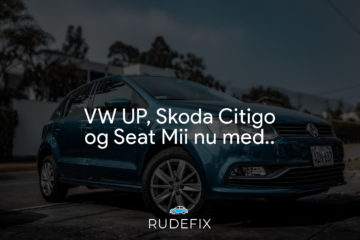 VW UP, Skoda Citigo og Seat Mii - forrude information