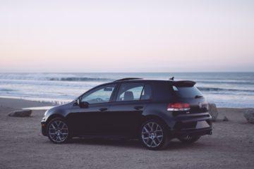 Volkswagen Golf udskiftning af forrude