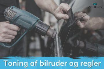 Blog indlæg: Toning af bilruder og regler