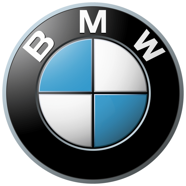 BMW car glass